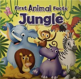 纸板书My First Animal Facts Jungle 我的第一个动物事实丛林