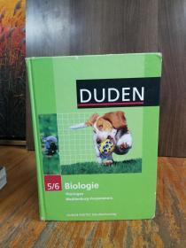 Biologie 5/6. Lehrbuch. Thüringen, Mecklenburg-Vorpommern: Duden  【德文原版】