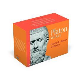 柏拉图全集 Platon Werke.  希腊文德文对照 . 全8卷
