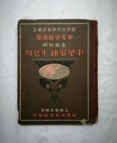 民国二十八年《中国新形势图》,蔡元培题字,地图漂亮。
