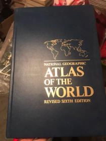 ATLAS OF THE WORLD(4开英文大图册)