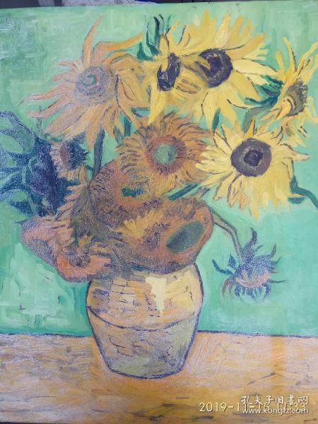 油画,梵高的向日葵