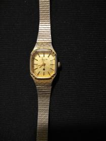 老电子手表(女式),日本机芯。   (当配件卖)