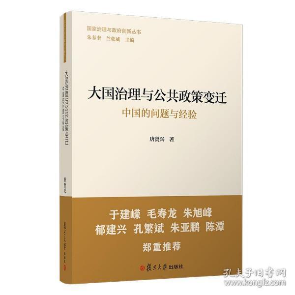 大国治理与公共政策变迁:中国的问题与经验(国家治理与政府创新丛书)