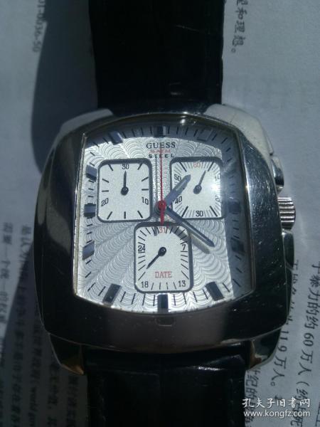 保真美国guess手表