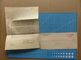 1944年3月3日美国(芝加哥寄耶茨城)大实寄封、含信件(77)
