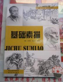 正版全新 基础素描 王丽志 河北出版传媒集团 河北美术出版社9787531087656