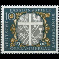 联邦德国  1960年十字-耶稣受难剧演出1全新