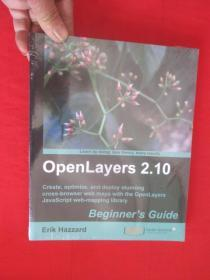 OpenLayers 2.10 Beginners Guide     (16开)   【详见图】,全新未开封