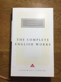 The Complete English Works by George Herbert 乔治·赫伯特英语作品集 Everyman's Library 人人文库 全网最低价包邮