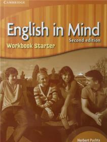 平装 English in Mind Starter Workbook 初学者英语练习册
