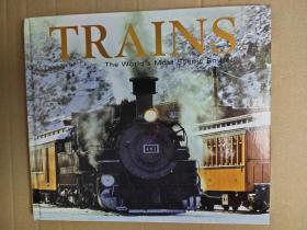 Trains: The Worlds Most Scenic Routes 火车:世界上最优美的路线 精装英文版