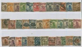 北京帆船一版005-2元,二版05-2元,共36枚