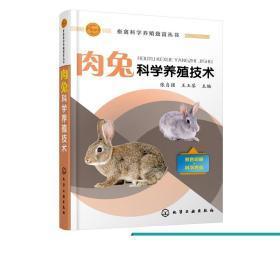 畜禽科学养殖致富丛书 肉兔科学养殖技术 肉兔饲料与饲料加工技术 肉兔饲养管理 肉兔常见病防控技术 科学健康养兔新技术指南教程