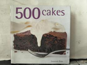 500cakes—— the only cake compendium youll ever need(英文原版)
