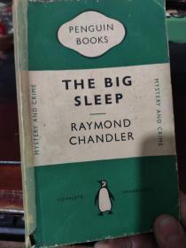 【英文原版】THE BIG SLEEP  RAYMOND CHANDLER