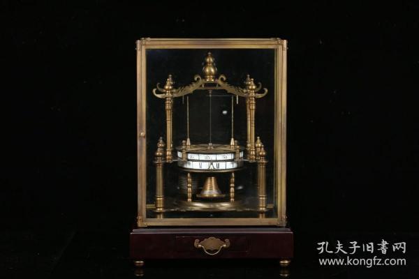 欧洲回流、百年古铜机械钟