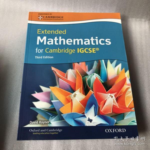 Extended Mathematics for Cambridge IGCSE@