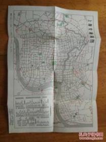 上海交通简图 1963版