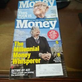 money   2018年(2本合售)