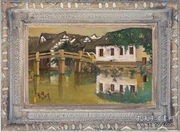 乌镇西栅河边小房子