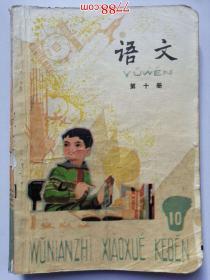 五年制小学课本:语文(第十册)