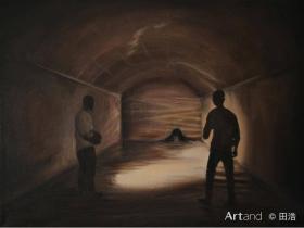 艺术家原创油画 90后 优秀画家 田浩作品。一物一价,具体尺寸价格详聊,3600元起