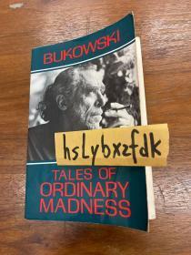 BUKOWSKI,  常态的疯狂 TALES OF ORDINARY MADNESS 布考斯基小说集