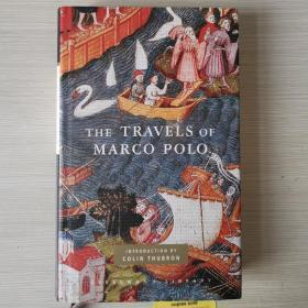 The travels of Marco polo marcopolo马可波罗游记 英文原版 人人文库 精装