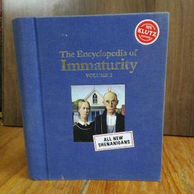 The Encyclopedia of Immaturity 【布面精装】