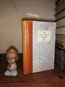 1798年  The Pleasures of Memory with other Poems by Samuel Rogers  插图版  后期重新装帧  非常好的皮脊 16.6x10.5cm