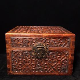 花梨木方形箱