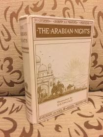 The Arabian Nights -- 《一千零一夜》Folio 1999年出品 Detmold插画 收录了阿里巴巴与四十大盗,阿拉丁神灯,辛巴达等经典故事