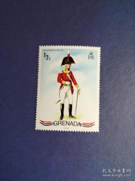 外国邮票 格林纳达邮票 士兵(无邮戳新票)