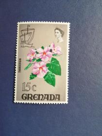 外国邮票 格林纳达邮票 花卉(无邮戳新票)