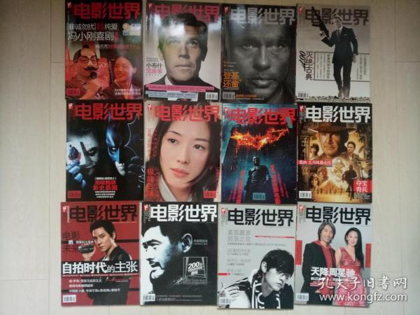 电影世界 2008年1~12期