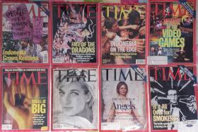 Time magazine 时代周刊 1993-1998 共八本合售