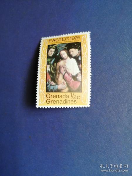 外国邮票 格林纳达邮票  1976年复活节(无邮戳新票)
