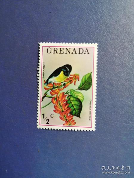 外国邮票 格林纳达邮票 鸟(无邮戳新票)