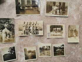 民国南洋公学照片一组三十多张,带相册