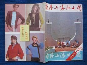 【创刊号】台港与海外文摘  1984
