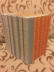 Jane Austen collection 7 volumes -- 奥斯丁小说全集 七卷本 Folio 1975年出品
