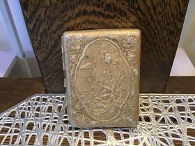 金花老烟盒