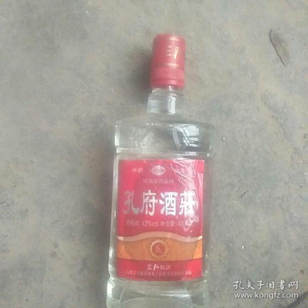 90年代孔府原酒一瓶酒度42%(原包装1市斤)