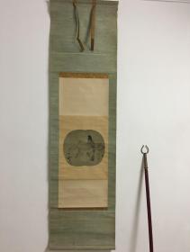 宋徽宗(款)-绢本花鸟(带木盒)