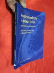 Privatisation in the European Union: Public Enterprises and Integration    (小16开)     【详见图】
