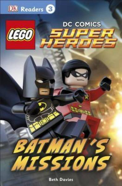 DK Readers L3: LEGO DC Comics Super Heroes: Batm