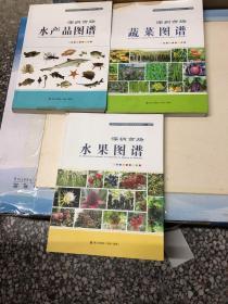 深圳市场水果图谱.  深圳市场水产品图谱  .深圳市场蔬菜图谱(3册合售)