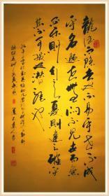 【保真】知名书法家杨向道(道不远人)精品力作:《周易》节录