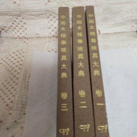 中国太极拳统真大典(全三册)